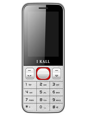 I Kall K23 Dual SIM Mobile Phone (White Red)