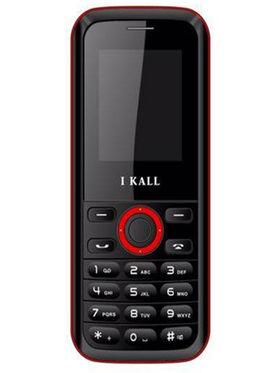 I Kall K18 Dual SIM Mobile Phone (Black Red)
