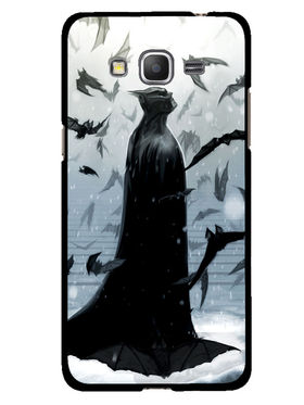 Snooky Designer Print Hard Back Case Cover For Samsung Galaxy Core Prime G360H - Grey