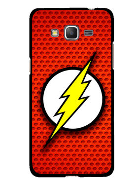 Snooky Designer Print Hard Back Case Cover For Samsung Galaxy Core Prime G360H - Red