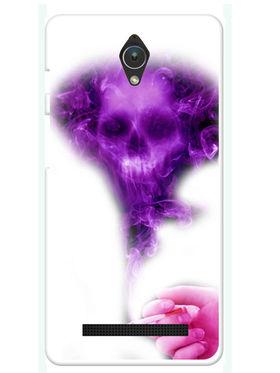 Snooky Designer Print Hard Back Case Cover For Asus Zenfone C ZC451CG - Purple