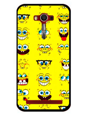 Snooky Designer Print Hard Back Case Cover For Asus Zenfone 2 Laser 5.0 (ZE500KL) - Yellow