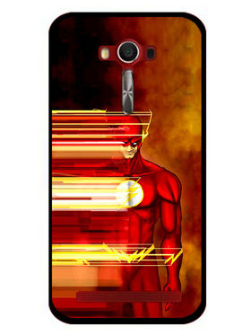 Snooky Designer Print Hard Back Case Cover For Asus Zenfone 2 Laser 5.0 (ZE500KL) - Red