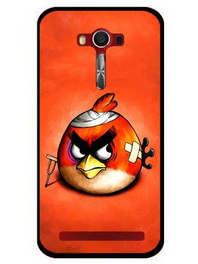 Snooky Designer Print Hard Back Case Cover For Asus Zenfone 2 Laser 5.0 (ZE500KL) - Orange