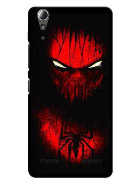 Snooky Designer Print Hard Back Case Cover For Lenovo A6000 - Red