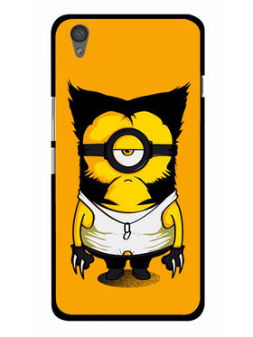 Snooky Designer Print Hard Back Case Cover For OnePlus X - Yellow