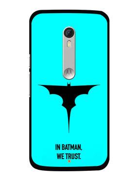 Snooky Designer Print Hard Back Case Cover For Motorola Moto X Play - Sky Blue