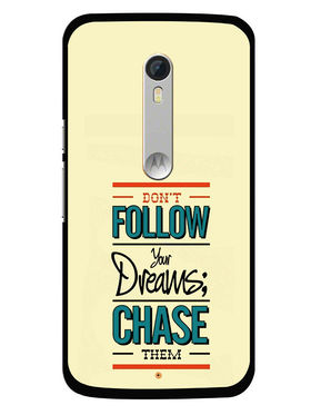 Snooky Designer Print Hard Back Case Cover For Motorola Moto X Play - Cream