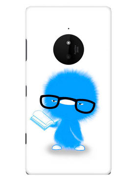 Snooky Designer Print Hard Back Case Cover For Nokia Lumia 830 - Blue