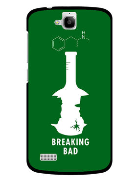 Snooky Designer Print Hard Back Case Cover For Huawei Honor Holly - Green