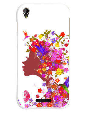 Snooky Designer Print Hard Back Case Cover For Lava Iris X1 mini - Multicolour