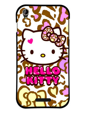 Snooky Designer Print Hard Back Case Cover For Lava Iris X1 mini - White