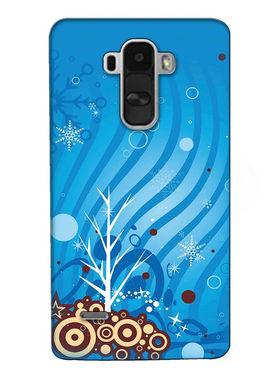 Snooky Digital Print Hard Back Case Cover For LG G4 Stylus - Orange