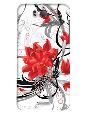 Snooky Digital Print Hard Back Case Cover For InFocus M530 - White