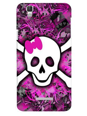 Snooky Digital Print Hard Back Case Cover For Coolpad Dazen F2 - Purple