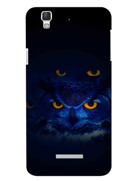 Snooky Digital Print Hard Back Case Cover For Coolpad Dazen F2 - Black