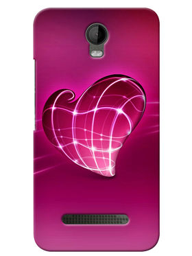 Snooky Digital Print Hard Back Case Cover For Micromax Bolt Q335 - Pink