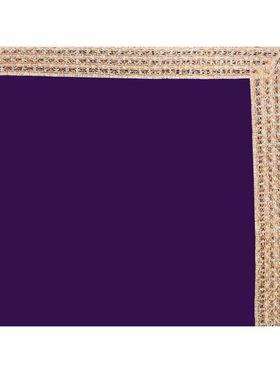 Designersareez Zari Threaded Lace Chiffon Saree -2002
