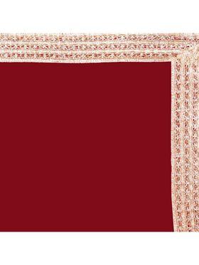 Designersareez Zari Threaded Lace Georgette Saree -2003