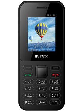 Intex Eco 105 Dual Sim Phone - Black