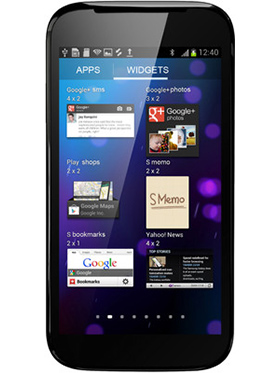 Micromax A100 Superfone - Black
