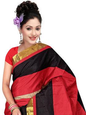 Adah Fashions Multicolor South Silk Saree -888-117
