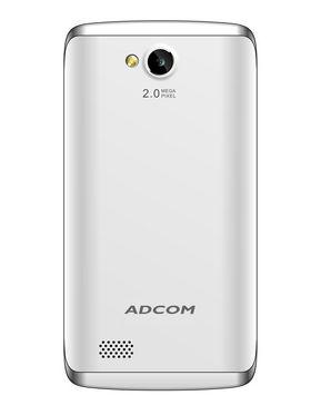 ADCOM A40 Plus 3G - 4 Inch WVGA Display/ Kitkat 4.4.4 OS/ 1.0 Ghz - White