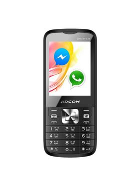ADCOM X14 Chatty Dual SIM Mobile Phone - Grey