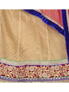 Khushali Fashion Embroidered Net Lehenga Choli(Beige)_ASFN2A115CHIKOO