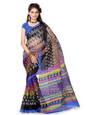 Shamika Pack of 7 Supernet Sarees - By Adah Fashions