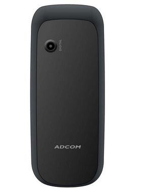 Adcom Guru X10 1.8 inch Dual Sim - Black