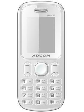 Adcom X2 Hero Dual Sim Mobile -Black & Blue