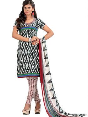Khushali Fashion Cotton Self Dress Material -Bgssnr44001