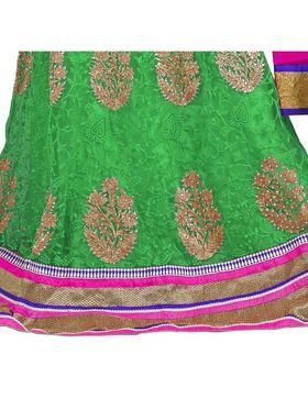 Styles Closet Designer Net Semi Stitched Lehenga Choli -Bnd-Pc5002