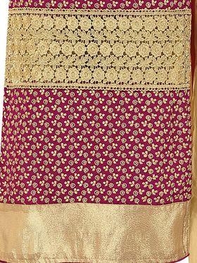 Khushali Fashion Velvet Embroidered Unstitched Dress Material -BRCVLT1006