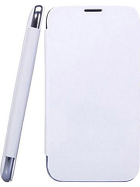 Camphor Flip Cover for Micromax A67   White available at Naaptol for Rs.290