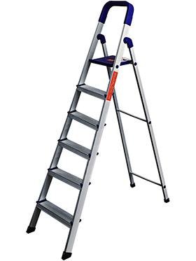 Buy Cipla Plast Folding Aluminium Ladder Home Pro 6