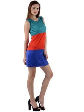 Arisha Viscose Solid Dress DRS1009lti