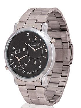 Dezine Wrist Watch for Men - Black_DZ-GR030-BLK-CH