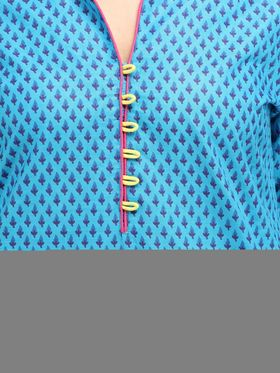 Branded Cotton Printed Kurtis -Ewsk0615-1356