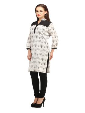 Branded Cotton Printed Kurtis -Ewsk0615-1384