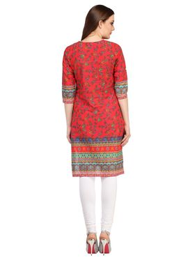 Pack of 2 Branded Cotton Printed Kurti -ewsk33