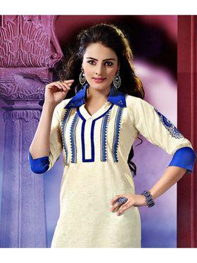 Pack of 3 Viva N Diva Emboridered Khadi Cotton Kurti -vna03