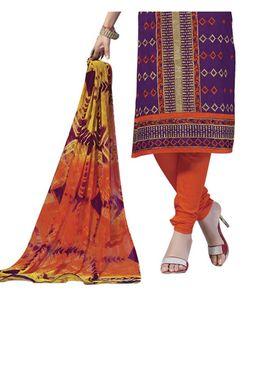 Fabfiza Embroidered Cotton Semi Stitched Straight Suit_FBIM-05