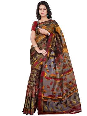 Florence Bhagalpuri silk Printed  Sarees FL-10756-D
