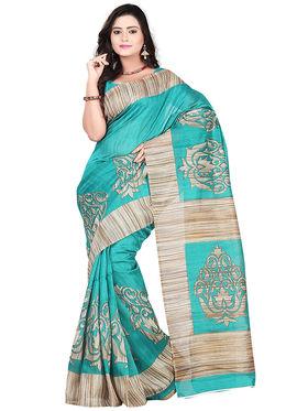 Florence Bhagalpuri silk Printed  Sarees FL-10954