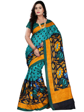 Florence Bhagalpuri silk Printed  Sarees FL-10991