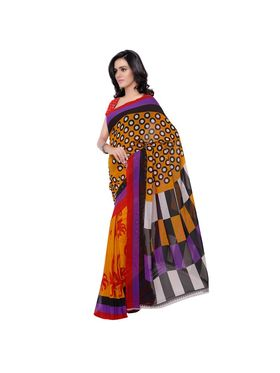 Florence Printed Faux Georgette Sarees -FL-11232