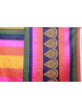 Florence Printed Bhagalpuri Silk Sarees FL-11680