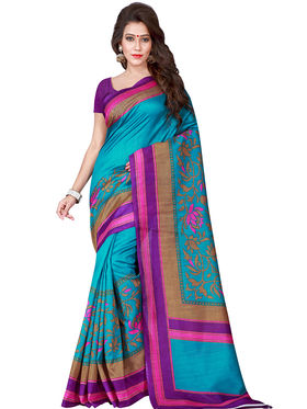 Florence Printed Bhagalpuri Silk Sarees FL-11688